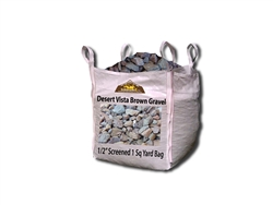 "Desert Vista Brown Gravel 1/2"" Screened - Gravel For Sale"