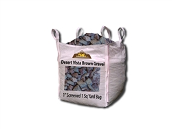 "Desert Vista Brown Gravel 1"" Screened - Gravel For Sale"