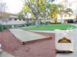 Bocce Court Gold Surface Dry Climate Blend