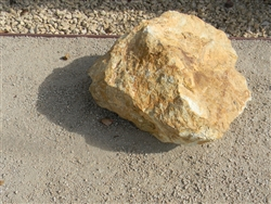 "California Gold Rock Boulders 12"" to 18"""