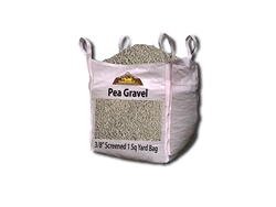 "Pea Gravel 3/8"" Screened Per Yard - Landscape Supply"
