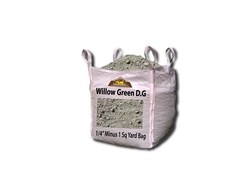 "Willow Green D.G. Fines 1/4"" Minus"