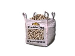"Desert Gold Landscape Gravel 3/4"" Screened  - Landscape Materials Near Me"