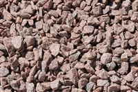 "Ruby Red Gravel 1/2"" Screened Per Yard - Gravel For Sale"