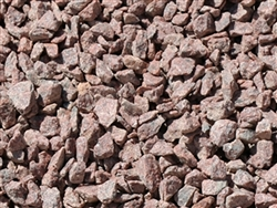 "Ruby Red Gravel 3/4"" Truck Load"