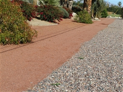 "Ruby Red Gravel 3/4"" Minus"