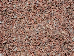 "Apache Pink Gravel 3/4"" Truck Load  - Landscaping Rocks"