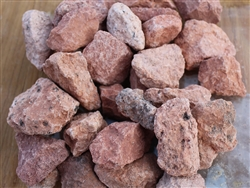 "Apache Pink Gravel 1"" Truck Load - Landscaping Rocks"