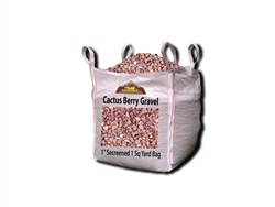 "Cactus Berry Landscape Gravel 1"" - Crushed Stone"