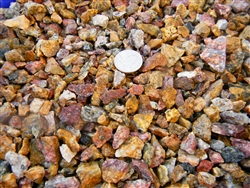 "Copper Rose Gravel 3/8"" Truck Load - Gravel For Sale"
