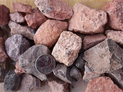 "Sedona Landscape Coral Gravel 3/4"" Per Yard - Gravel For Sale"