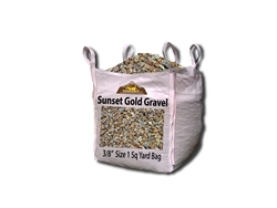 Sunset Gold Landscape Gravel 3/8""