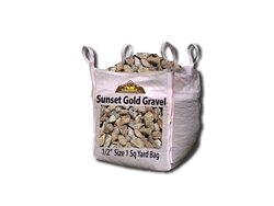 Sunset Gold Landscape Gravel 1/2""