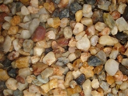 Lone Gold Gravel Pebbles 3/8""