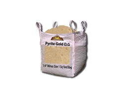"Pyrite Gold Decomposed Granite 1/4"" Minus"