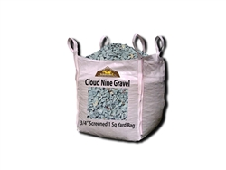 "Cloud Nine Gravel 3/4"" Screened Per Ton"