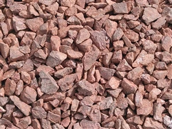 "Apache Red Gravel & Rock 1""-4"" TruckLoad Per Ton - Landscape Stone"