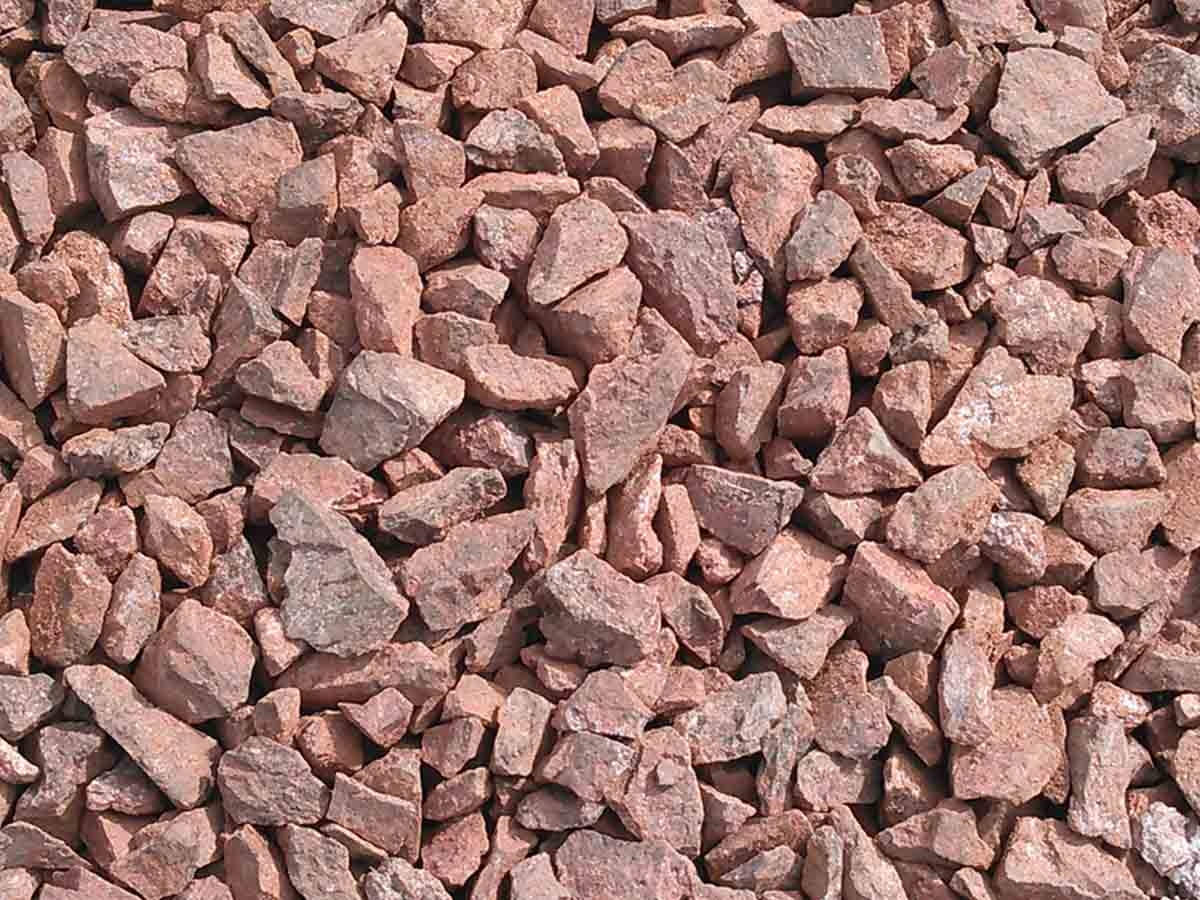 Apache Red Gravel Granite 1 4 Quarry Fast Shipping Landscape Supply