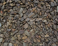 "Table Mesa Brown Gravel 1/2"" Minus Per Ton"