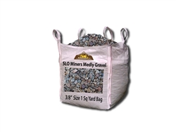 "SLO Miners Medly Gravel 3/8"" Per Yard - Landscape Rock Near Me"
