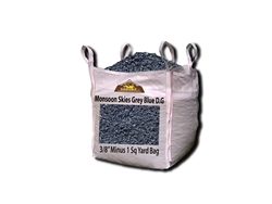 "Monsoon Skies Grey Blue Decomposed Granite 3/8"" Minus"