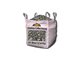 "Cowboy Coffee Gravel 3/4"" Minus"
