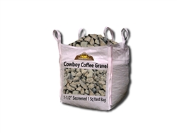 "Cowboy Coffee Gravel 3/8"" Screened - Crushed Stone Near Me"
