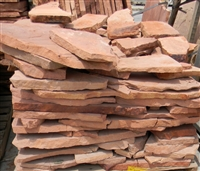 "Arizona Flagstone Rosa 1-1/4"" Minus"