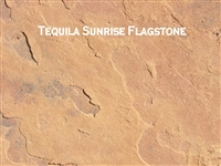 "Arizona Flagstone Tequila Sunrise 1-1/4"" Minus"