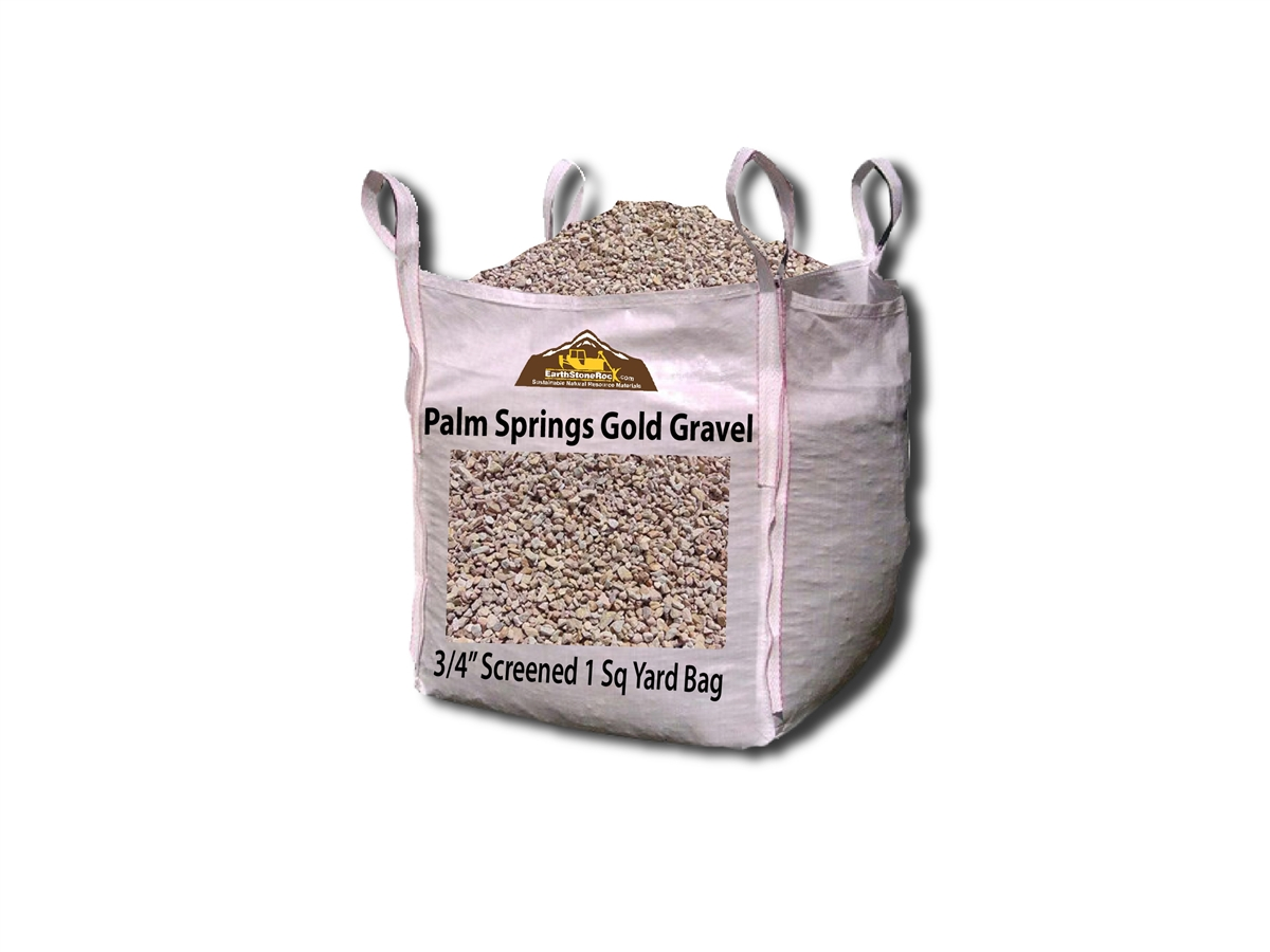Palm Springs Gold Gravel 3 4 Quot Quarry Fast Shipping