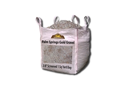 "Palm Springs Gold Gravel 3/8"" Screened - Gravel For Sale"