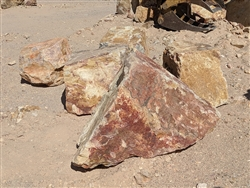"Palm Springs Gold Landscape Boulders 18"" to 24"""