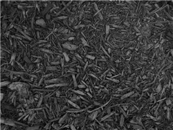 Black Colored Landscape Mulch Per 20 Yards