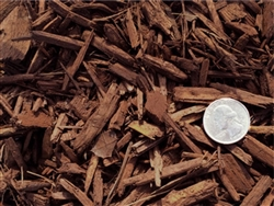 Brown Colored Landscape Mulch Per 20 Yards