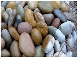 "Mixed Colors Mexican Beach Pebble 5""- 8"""
