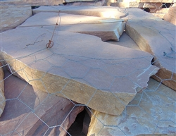 Colorado Red Flagstone Patio 2""