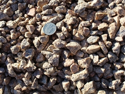 "Desert Gold Rock 1"" Screened Per ton - Landscape Gravel"