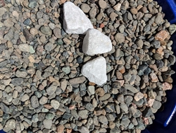 "Blue Surf Pebbles 3/8"" Screened - Rock Landscaping"