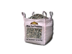 "Blue Surf Pebbles 3/8"" Screened"