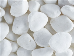"Nara Snow White Pebbles 1"" to 2"""