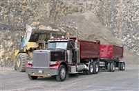 Dump Truck and Transfer Trailer up to 25 tons