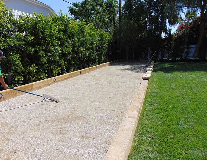 Bocce Court Surface Materials Free Design Help