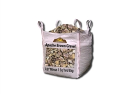 "Apache Brown Gravel 7/8"" Minus"