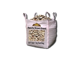 Apache Brown Gravel 5/8""