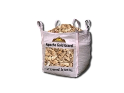 "Apache Gold Gravel 1"" - 4"" Screened Per Ton"