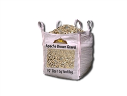Apache Brown Granite Rock 1/2""