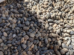 "Noiyo River Stone 3/4"" - 1/2"" Sample - Landscaping Pebbles"