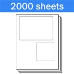 USPS Click-N-Ship with Receipt Labels (1 Carton - 2000 Sheets)