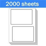 USPS Click-N-Ship without Receipt Labels (1 Carton - 2000 Sheets)