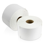 "Dymo Compatible 1933088 Plastic Poly Labels 2-5/16"" x 4"""